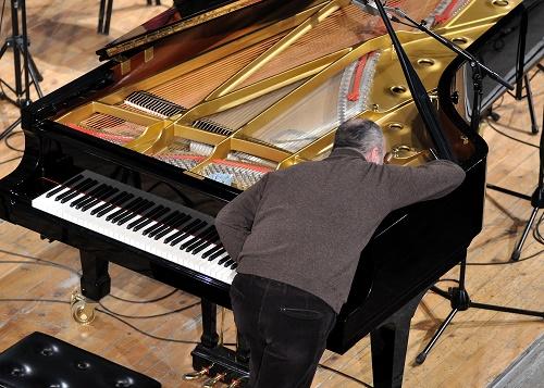 Here Walter Tunes a Piano