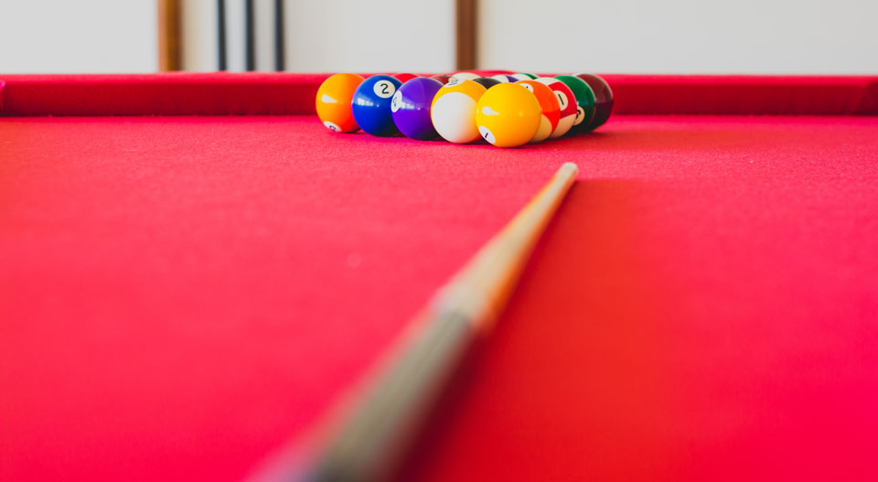Re-felting your pool table with the team in Perth